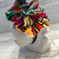 Fabric Headband Handmade With African Print (UK) - 005 Edition