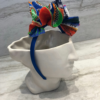 Fabric Headband Handmade With African Print (UK) - 001 Edition