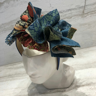 Handmade Fabric Headband made with With William Morris Print - 028 Edition
