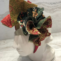 Handmade Fabric Headband made with With William Morris Print - 025 Edition