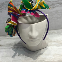 Handmade Fabric Headband made with African Print Fabric - 024 Edition