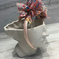 Handmade Fabric Headband made with Liberty print fabric - 021 Edition