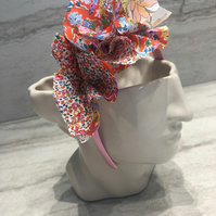 Handmade Fabric Headband made with Liberty print fabric - 020 Edition