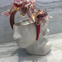 Handmade Fabric Headband made with Liberty print fabric - 016 Edition