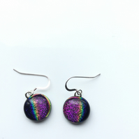 Spectrum, vibrantly beautiful, succulent earrings. Quirky earrings, which are on