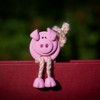 Perry the Pig Bookmark