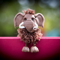Mungo the Woolly Mammoth Bookmark
