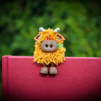 Hamish the Highland Cow Bookmark