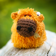 Hamish the Crocheted Highland Cow