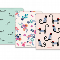 Cat - Set Of 3 Notebooks