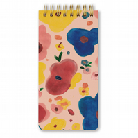 FLORAL SPIRAL NOTEPAD - Hardcover - Spiral - Notebook
