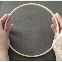 Wooden Hoop 8 inch (203mm) diameter