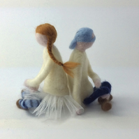 Frankie & Sidney Needle Felting Kit