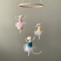 Ballet Dancing Mice Mobile