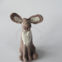 Felted Hare model