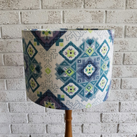 Genuine Vintage Fabric Lampshade