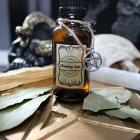 Cleansing Sage Massage Oil 30ml - Cures & Curses Witchcraft