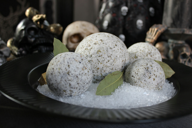 Sage Cleansing Bath Bomb 6.5cm - Cures & Curses Witchcraft