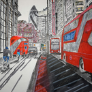 The Gherkin, Red Buses and Hidden Bikes