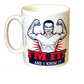 Im Fit And I Know It Mug. Man version. Mugs for men who like the gym