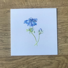 Pack of 5 Anemone Watercolour Print Card
