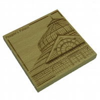 Wooden coaster - Glasgow landmarks - People's Palace
