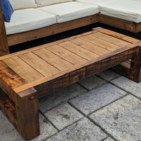 Rustic Solid Wood Garden Table-Bench-End Table-Stool-Coffee Table