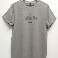 Better me organic t shirt in a unisex fit, Loungewear