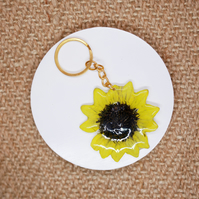 Sunflower Keyring