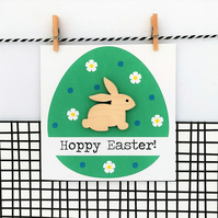Easter Bunny Card - Easter Card
