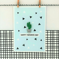 Father's Day Card - Cactus Seeds - Father's Day - Greetings Card