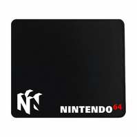 Crafty Graphics Nintendo 64 Inspired Small Black Mouse Mat - 200mm x 240mm