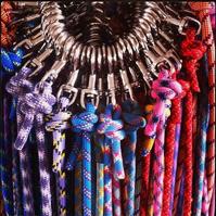 Scavenger Climbing Rope Dog Lead - Handmade from retired climbing rope
