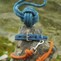Scavenger Climbing Rope Earth Dog Lead - Handmade from retired climbing rope