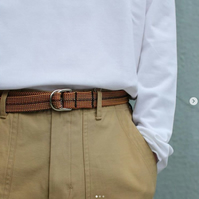 Scavenger Twin Climbing Rope Belt in Earth Colors