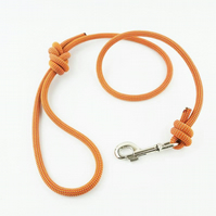 Scavenger Climbers Fire Dog Lead - Handmade from retired climbing rope