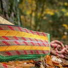 Scavenger Climbers Earth Pencil Case - Handmade from retired climbing rope