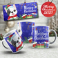 French Bulldog frenchie Christmas Mug