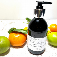 Lime Basil & Mandarin hand wash gift valentines eco valentines soap