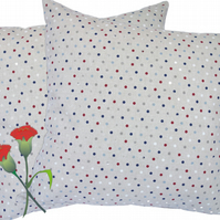 Small Dots design, double sided Feature Cushion, Throw Pillow