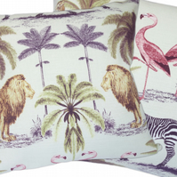 Wildlife, double sided Feature Cushion, Throw Pillow