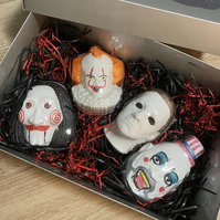 Personalised Horror bath bomb gift set