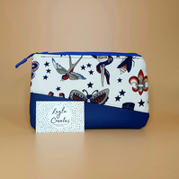 Tattoo Print Makeup Bag