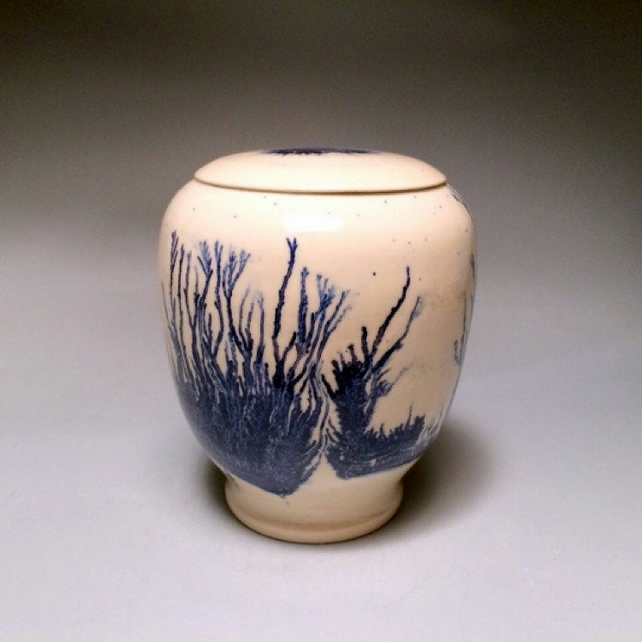 Understanding-funeral urn for ashes, unique handmade ceramic cremation art urns!