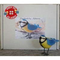 Needle Felted Blue Tit Making Craft Kit