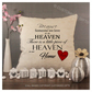 Luxury Personalised Cushion - Inner Pad Included - Heaven In Our Home
