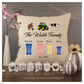 Luxury Personalised Cushion - Inner Pad Included - Welly Boots Family