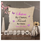 Luxury Personalised Cushion - Inner Pad Included - Sisters By Chance