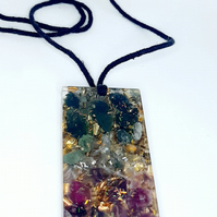 Orgonite Pendant with Amethyst