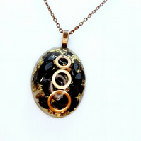 Orgonite Pendant For Root Chakra Healing